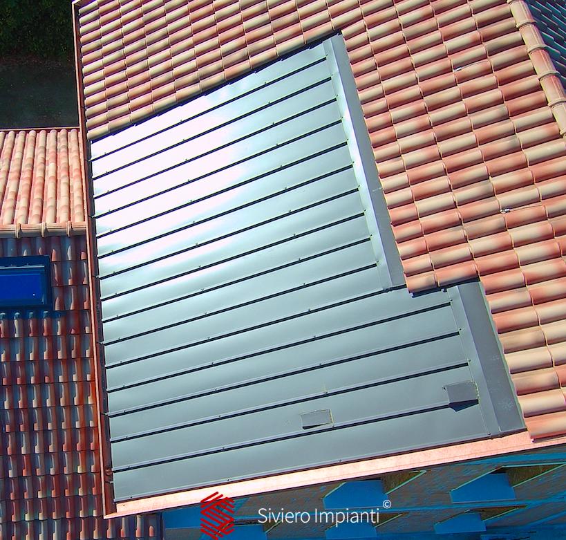 Ispezione vasche di contenimento sistemi fotovoltaici prima dell'installazione - loc. Mestre Venezia